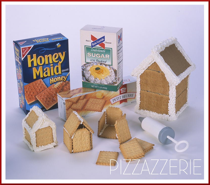 How To Make Gingerbread Houses Pizzazzerie