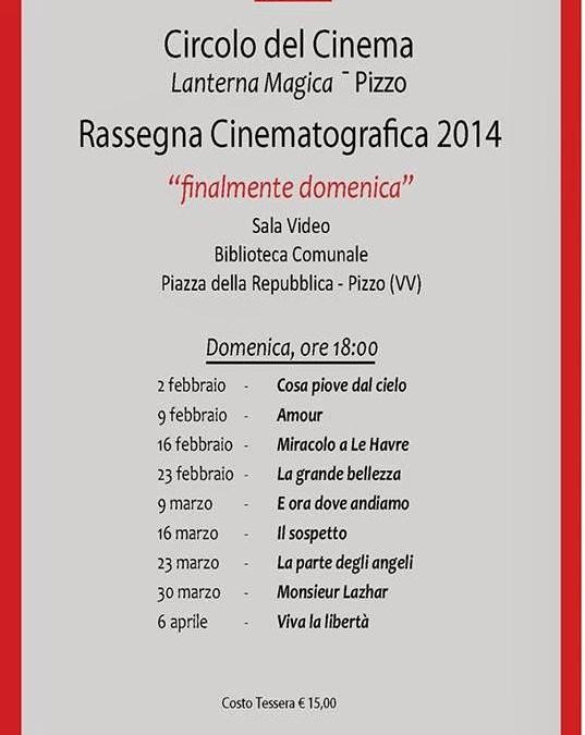 """20140120.Circolo del cinema """"Lanterna Magica"""". Rassegna cinematografica 2014"""