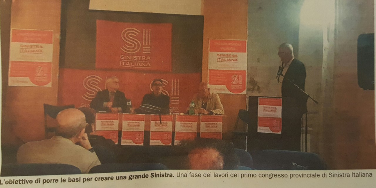 "Gerlando Maraschino coordinatore ""Alternativi a questo sistema"""