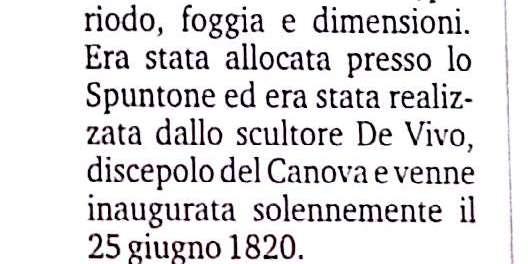 Il mistero del braccio scomparso della statua di Ferdinando