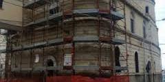 Completati i lavori di recupero della facciata della Chiesa di San Francesco.