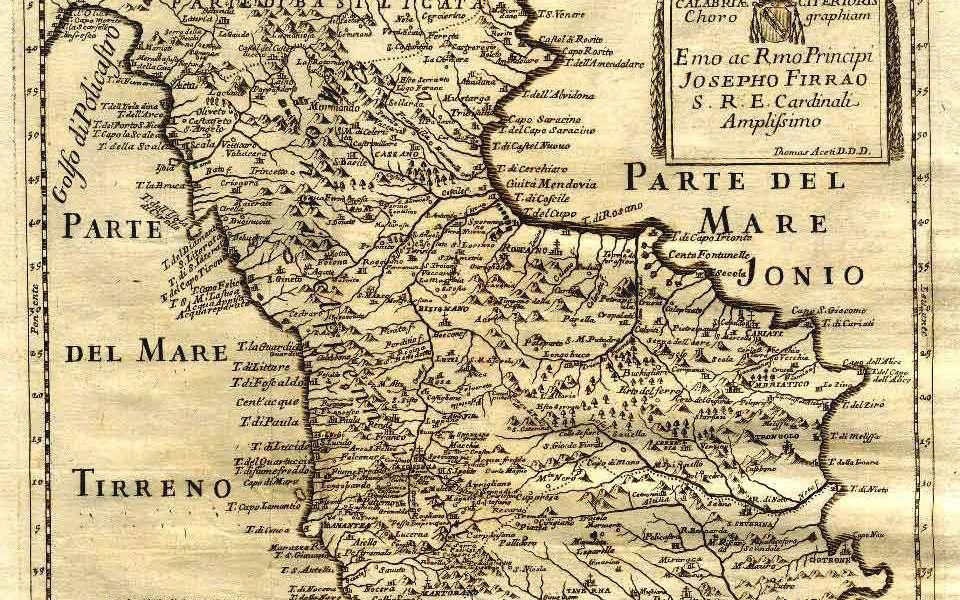 Geografia antica della Calabria