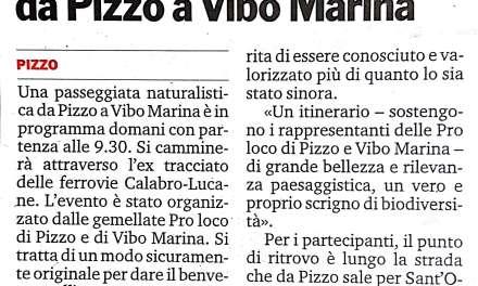 Camminata naturalistica da Pizzo a Vibo Marina