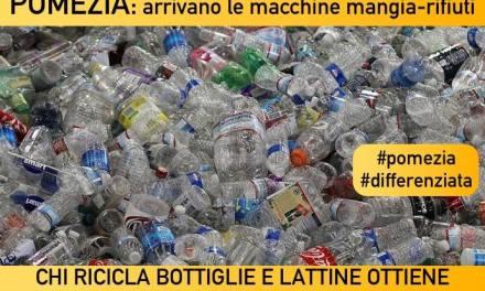 Buoni in cambio di bottiglie di plastica