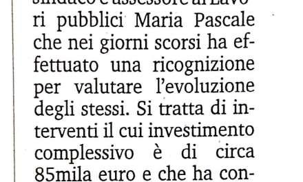 Localita' Marinella, quasi ultimati i lavori