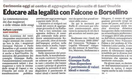 Educare alla legalità con Falcone e Borsellino