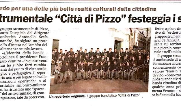 IL Gruppo Strumentale Città di Pizzo festeggia i suoi venti anni