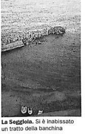 Mitigazione dell'erosione costiera. Superato anche l'ultimo ostacolo