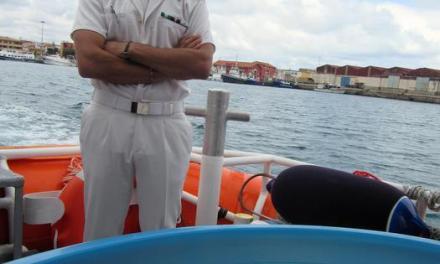 Caretta caretta dopo le cure liberata nel Golfo di Sant'Eufemia