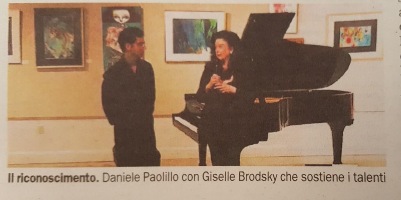 Il talento di Daniele Paolillo sbarca negli USA