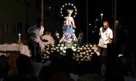 Vibo Marina, la processione a mare della Madonna di Pompei tra storia e pietà popolare (VIDEO)