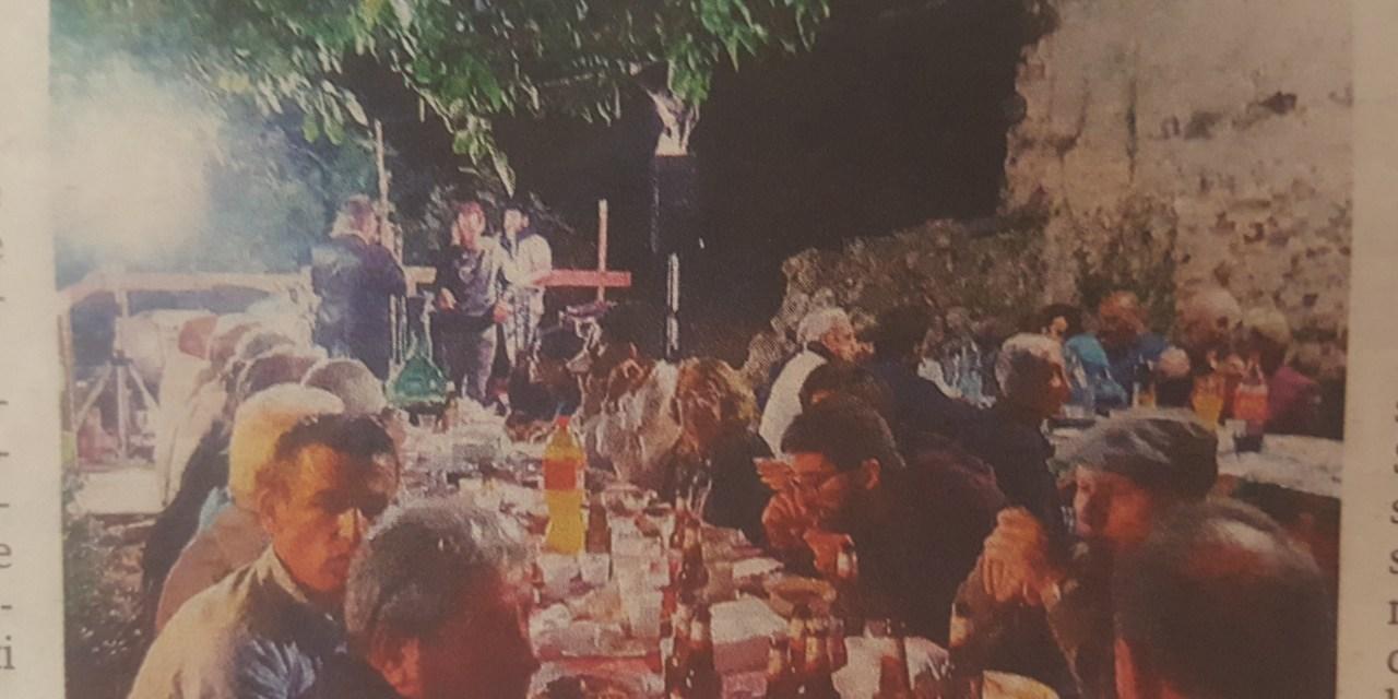 """Nel borgo il raduno degli """"Amici di Nicastrello"""""""