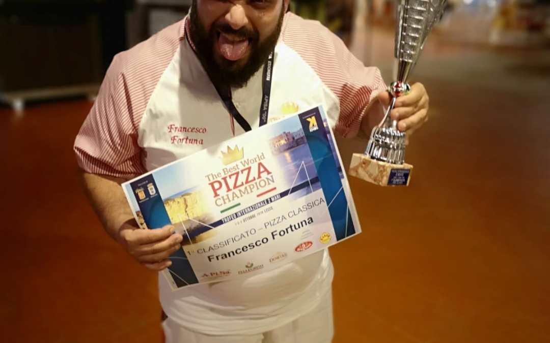 Campionati internazionali di pizza: i vibonesi Fortuna e Malfarà conquistano cinque trofei