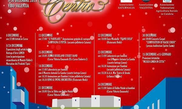 """Al via a Vibo """"Natale in centro"""", ecco il calendario degli eventi"""