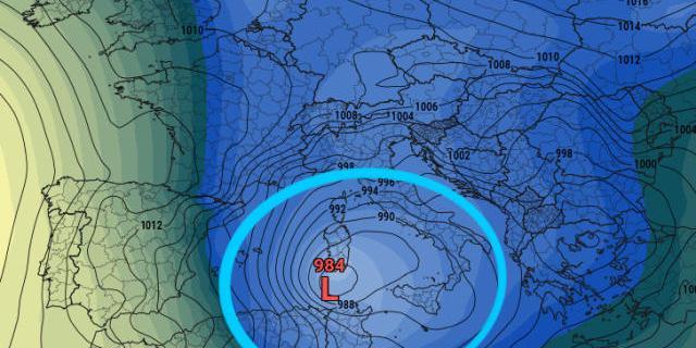 Imminente Ciclone Mediterraneo, evento meteo storico? Ultimissime