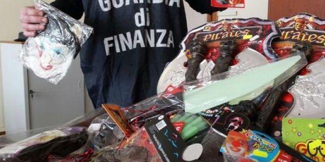 Blitz della Finanza nei negozi cinesi del Vibonese, controlli sulla qualità dei prodotti