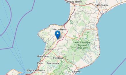 Trema la terra nel Vibonese, due scosse di terremoto