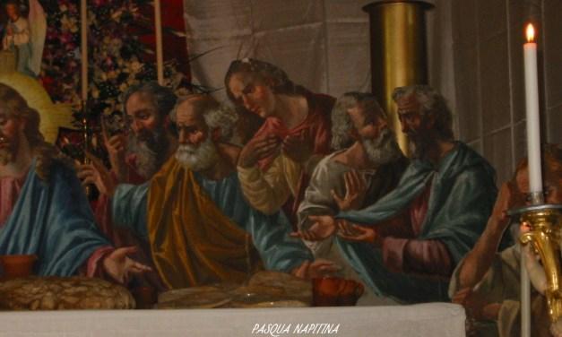 PASQUA NAPITINA 29/3/2002. VENERDI' SANTO MATTINA,  LA VISITA AI SEPOLCRI