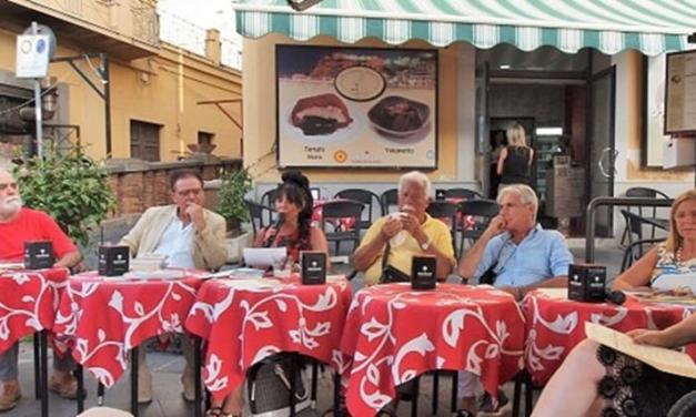 Caffè letterari a Pizzo con al centro le figure di Corrado Alvaro e Luigi Pellegrini