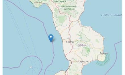 Sisma nella notte al largo del Tirreno cosentino – Corriere della Calabria