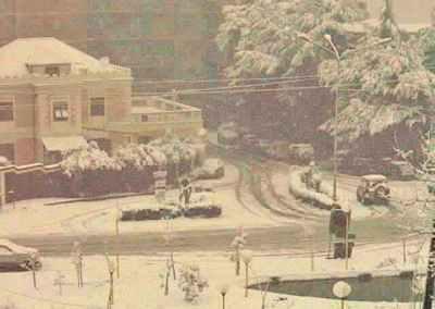 Pizzo 30/01/1999 – LA GRANDE NEVICATA  Via Nazionale (Foto di G. Pagnotta)