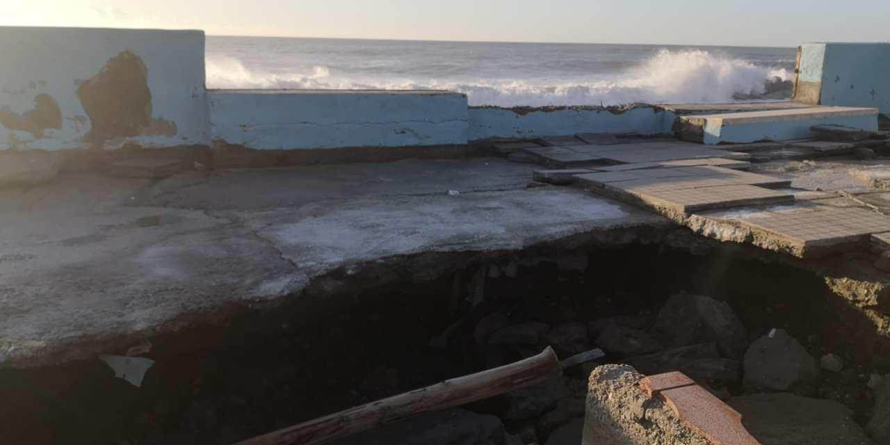 Litorale tirrenico spazzato via dal mare in tempesta. E nessuno ha una strategia – VIDEO – Corriere della Calabria