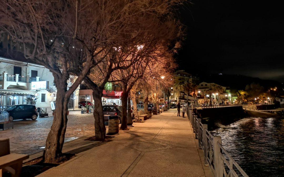 Pizzo invernale nella serata del 21/02/2020 – Foto di G. Pagnotta