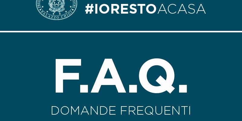 Decreto #IoRestoaCasa, domande frequenti sulle misure adottate dal Governo