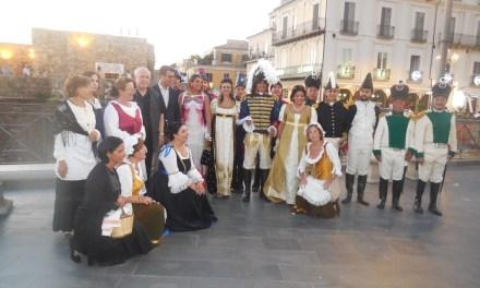 20/7/2019 – Pizzo – Inaugurazione di una scalinata a Gioacchino Murat a cura dall'Associazione G. Murat Onlus