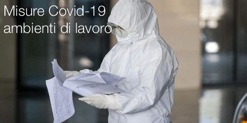Coronavirus COVID-19: Protocollo Sicurezza sui Luoghi di Lavoro 14 marzo 2020
