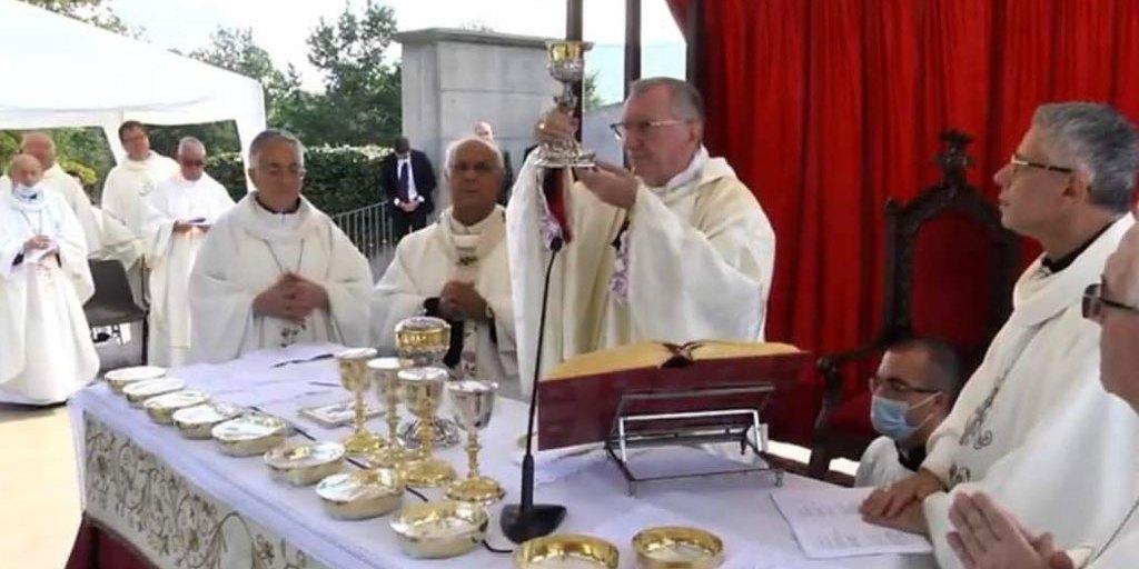 """Segretario di Stato Vaticano Parolin a Torre di Ruggiero: """"Calabria deve avere speranza"""" – il Lametino.it"""