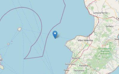 Due scosse di terremoto in mare nel corso della mattinata – Il Quotidiano del Sud