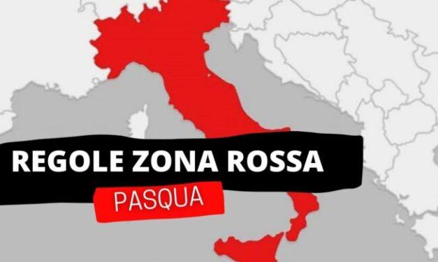 La Calabria in zona rossa da lunedì, l'indice Rt schizza a 1,37: ecco cosa cambia