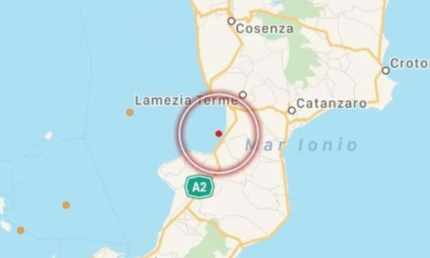 Terremoto in Calabria nel giorno di Pasqua, epicentro al largo di Pizzo [DATI] | Stretto Web