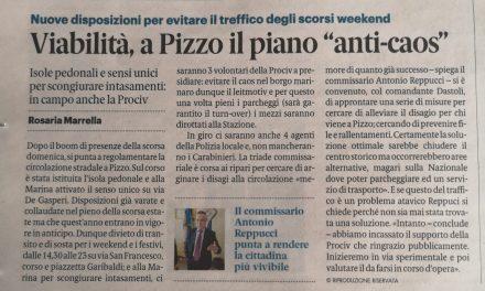 Viabilita', a Pizzo il piano anti-caos