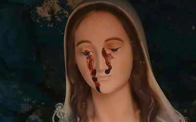Statua Madonna lacrima sangue nel vibonese, indagini in corso – il Lametino.it