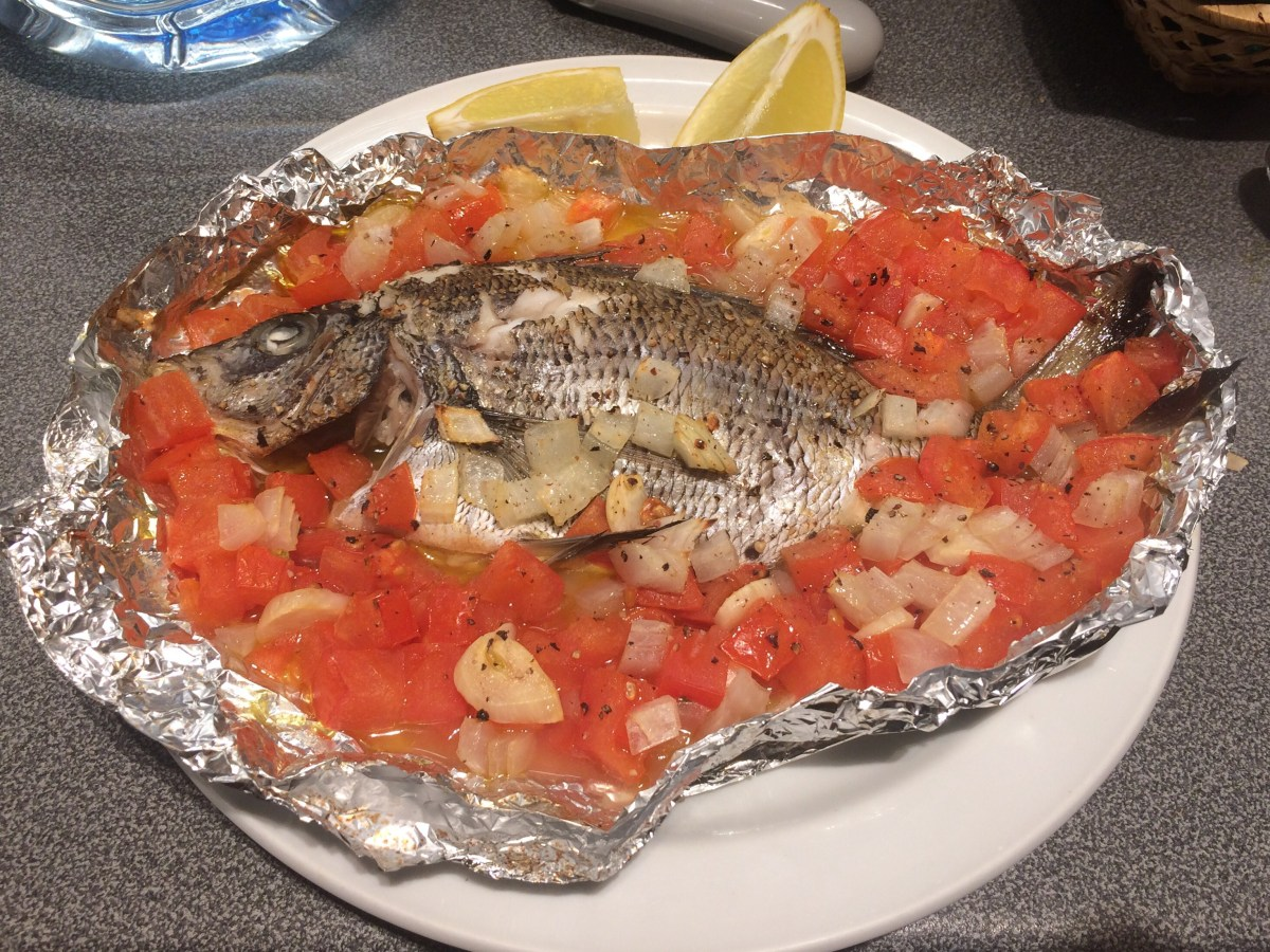 From Spear to Table #2 – Oven baked Seabream