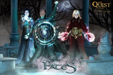 The Fates from The Quest