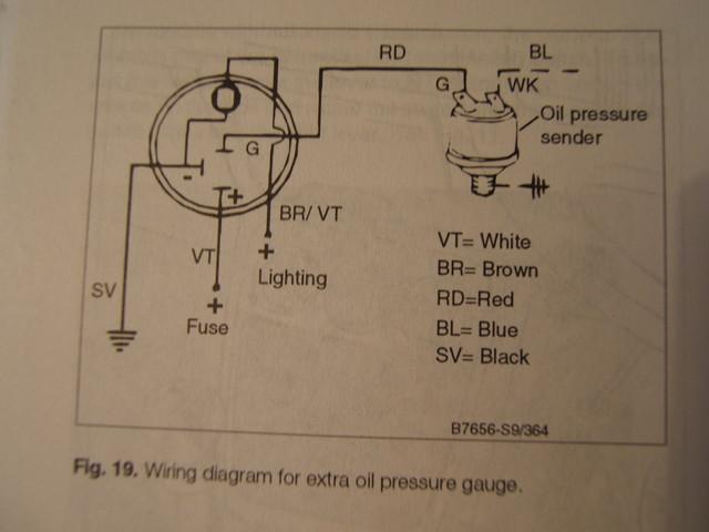 Thesambacom Gallery Vdo Temp Gauge Wiring Diagrams