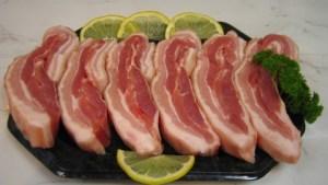 Belly Pork Strips x 6