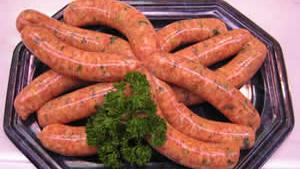 National Champion Welsh Twizzler Pork Sausage