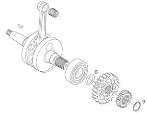 1999 Yz250 Engine Diagram YZ250 Crankcase Diagram Wiring