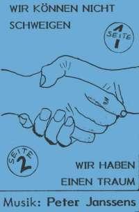 Wir können nicht schweigen 1970 (Kopie/Klavierauszug)