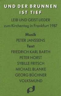 Und der Brunnen ist tief  1987 (Klavierauszug)