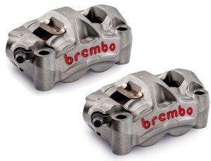 Brembo M50 Radial Caliper pair 100mm spacing