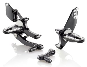 Rizoma EVO Rearsets for BMW RNine T