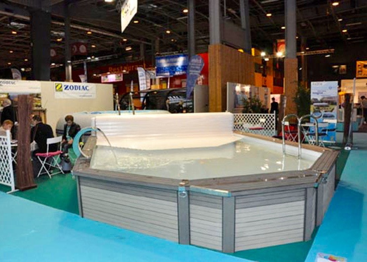 Mini piscine Azteck