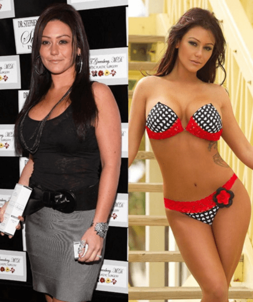 jennifer farley jwoww workout and diet plan pk baseline how celebs get skinny other