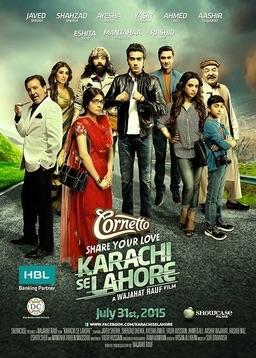 Karachi se Lahore Pakistani Movie Poster