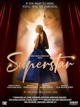 Superstar 2019 pakistani movie poster